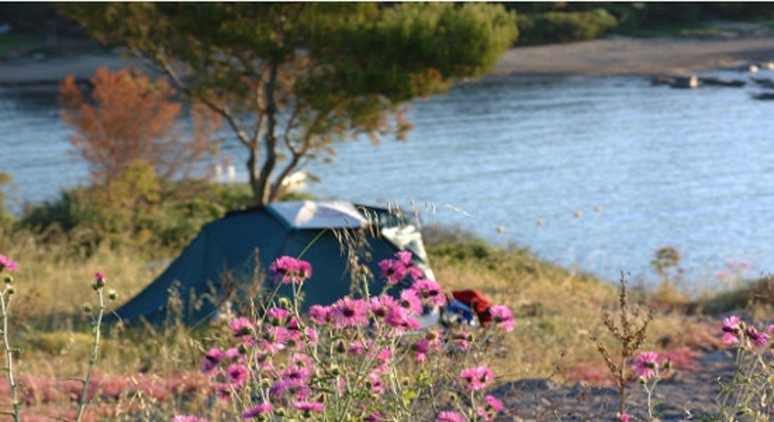 Camping naturiste en pleine nature